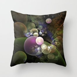 Unendless universe Throw Pillow