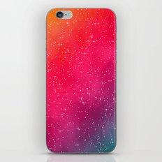 Colorful Galaxy iPhone & iPod Skin