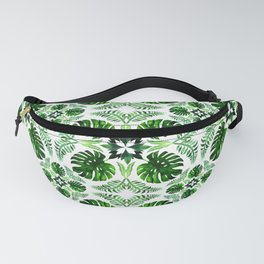 Tropical Joy Monstera Fanny Pack