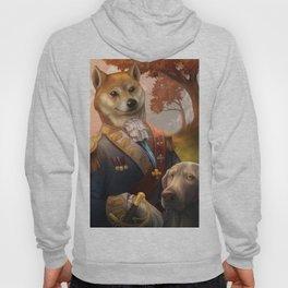 Royal Shiba Dog Portrait Hoody