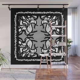 Alien Womb Space Threshold Wall Mural