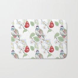 Partridge in a Pear Tree Bath Mat