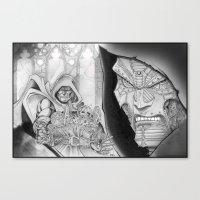 doom Canvas Prints featuring Doom! by GraphixRob Studios