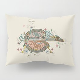 Celtic Initial E Pillow Sham
