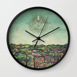 I Heart Lake Placid Wall Clock