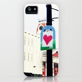 Valentines Day in Montpelier (2) iPhone Case