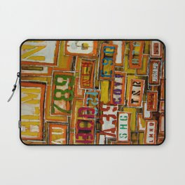 Give Me A Sign Laptop Sleeve