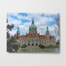 New Town Hall (Hanover) Metal Print