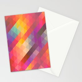 multicoloured designs Stationery Cards