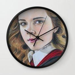 Hermione fan art Wall Clock