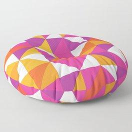 October Pattern Floor Pillow