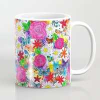 florence Mugs featuring Florence  by sarah illustration
