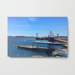 Port de Cannes Metal Print