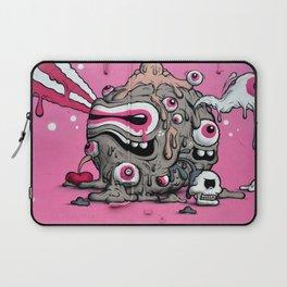 Urban Street Art: Pink Oozing Eye Creature (Buff Monster) Laptop Sleeve