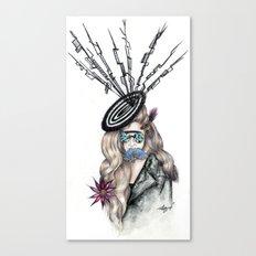 Aphrodite Lady Flora  Canvas Print
