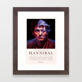 Hannibal - Season 1 Framed Art Print
