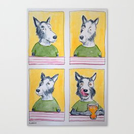 Microbrew Lick Lick Lick Canvas Print