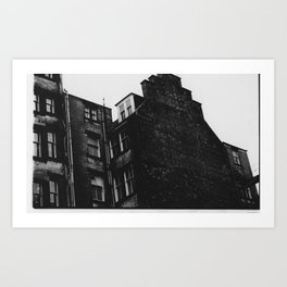 Glasgow Building  Art Print