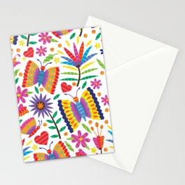 Otomi Butterflies Stationery Cards