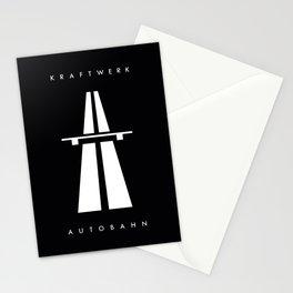 Autobahn kraftwerk Stationery Cards