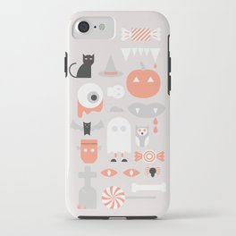 #24 Halloween iPhone Case