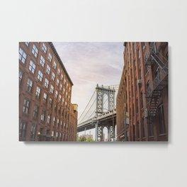 Manhattan Bridge NYC Metal Print