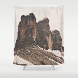 Three Rocks Shower Curtain