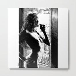 asc 1009 - La fringale (Marguerite's craving) Metal Print