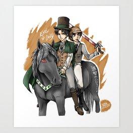 Shingeki no Halloween Art Print