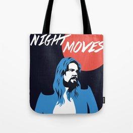 NIGHT MOVES: BOB SEGER Tote Bag