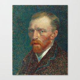 Vincent van Gogh - Self-Portrait, 1887 Canvas Print