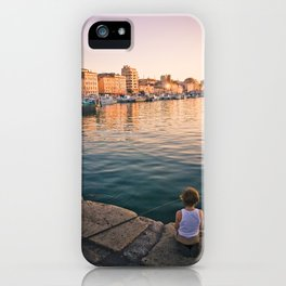 Sunset in Marseille iPhone Case