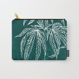 Color Cannabis Illustration Carry-All Pouch