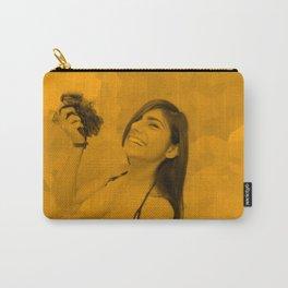 Mia Khalifa - Celebrity - Top Less - Open Art Carry-All Pouch