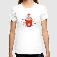 gumball T-shirts featuring Gumball Machine by elledeegee