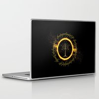 gondor Laptop & iPad Skins featuring Lord Of The Ring Circle by Electra