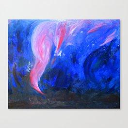Signal fire. Canvas Print