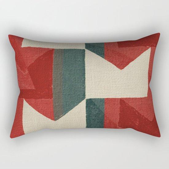 Playing With Volpi Rectangular Pillow