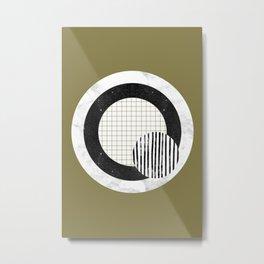Anti target Metal Print