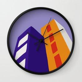 Skyscrapers II Wall Clock