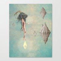 native Canvas Prints featuring Native by antoniopiedade