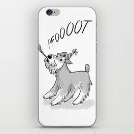 Cute Party Schnauzer, Dog Print! iPhone Skin
