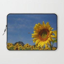 Sunny Summer Sunflower Laptop Sleeve