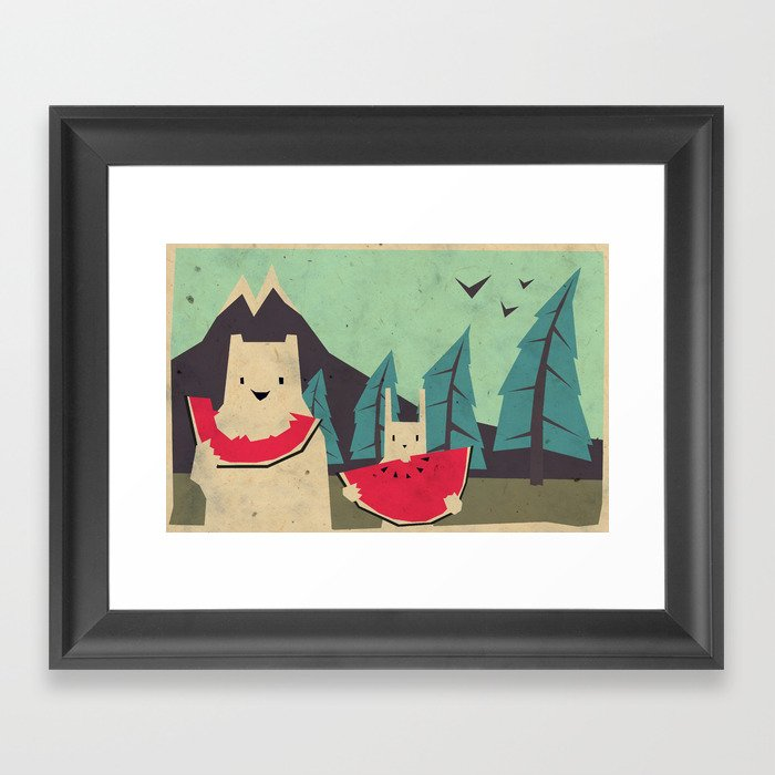 I want moaarrr! Framed Art Print