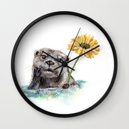 Otterly Lovely Wall Clock