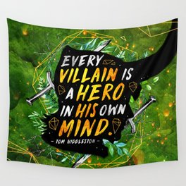 Every villain Wall Tapestry