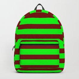 marinière mariniere Green version 2 Backpack