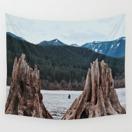 Cold Water Fishing Wall Tapestry