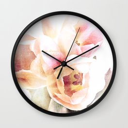 spring tulips delicate Wall Clock