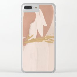 Field Girl Clear iPhone Case